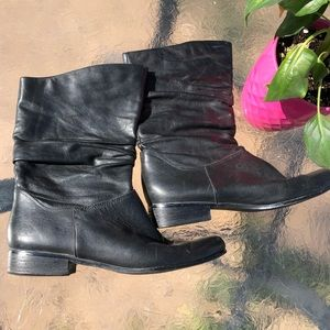 Black St. John's Bay ankle boots